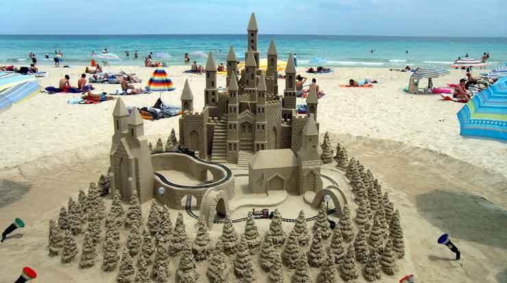 Strandkasteel